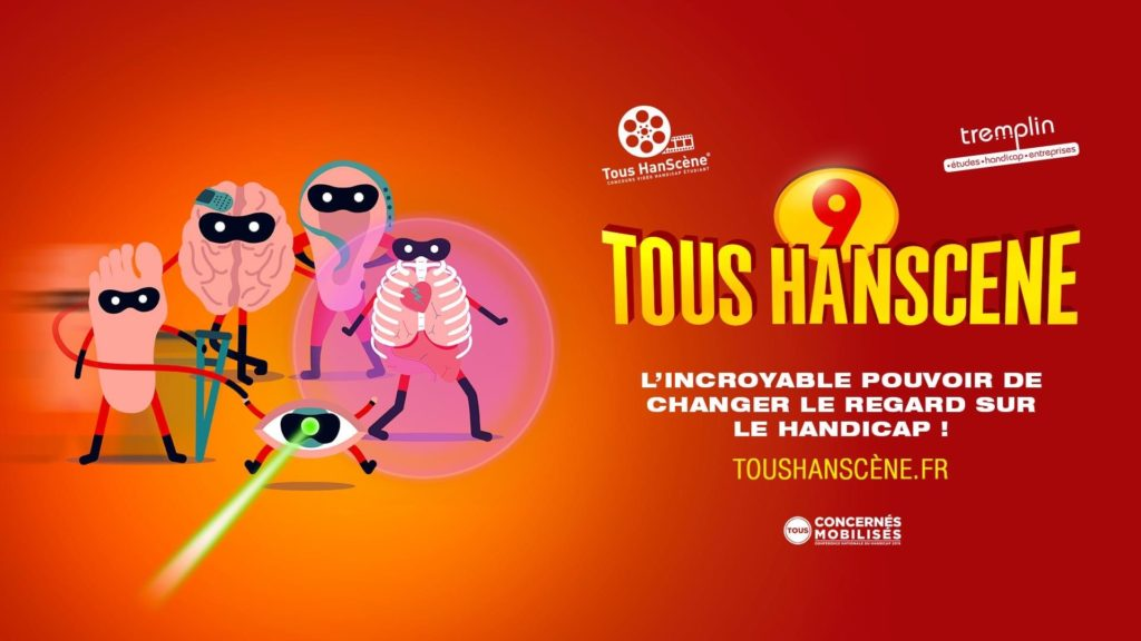 Lancement de notre Concours Vidéo Handicap Etudiant #TousHanScène