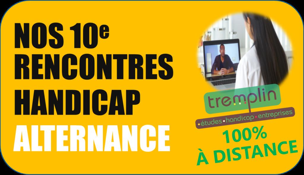 Cliquez pour vous inscrire à nos 10e Rencontres Handicap Alternances